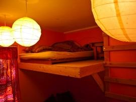 ロフト,DIY,自作,ベッド,寝室